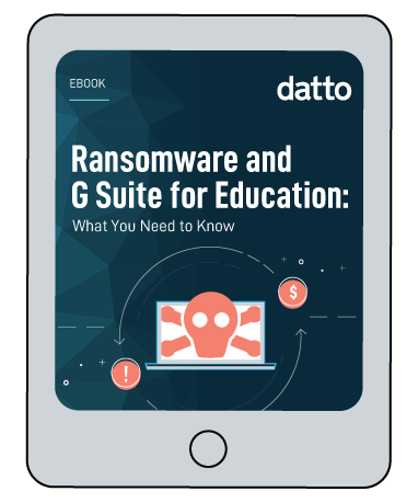 Ransomware and G Suite for Education