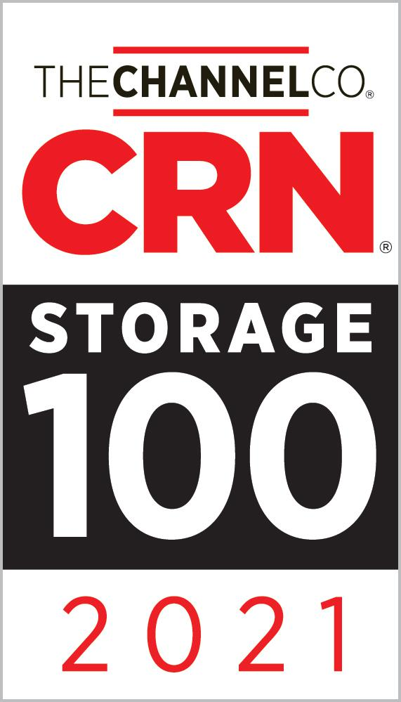 2021 CRN Storage 100 List - Data Protection segment
