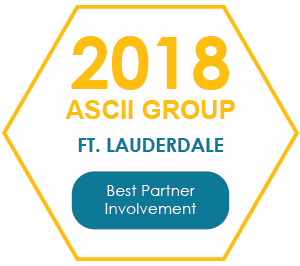 2018 ASCII Group Ft. Lauderdale - Best Partner Involvement