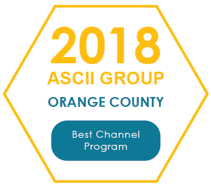 2018 ASCII Group Orange County - Best Channel Program