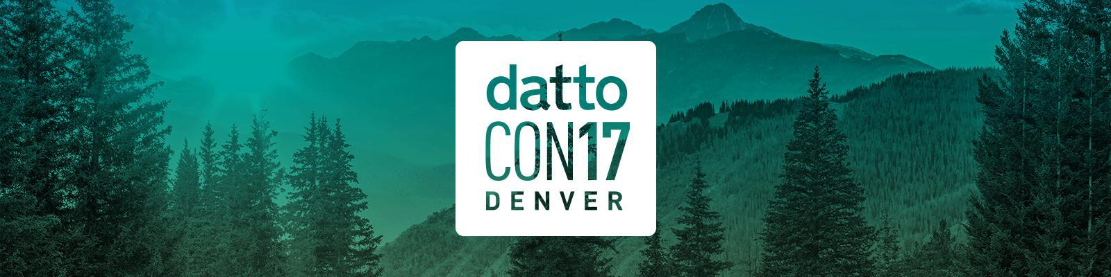 Live Updates from #DattoCon17