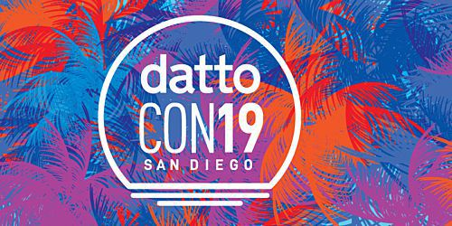 Looking Back at DattoCon2019