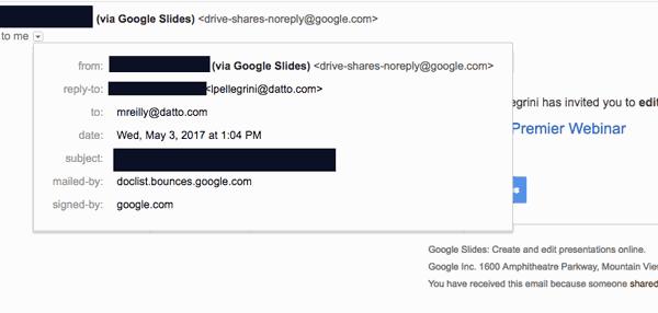Google Doc Phish Scam