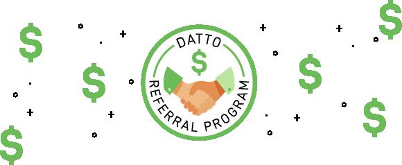 Datto Referral Program banner