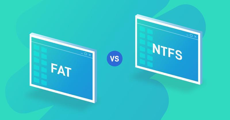 Fat32 Ntfs