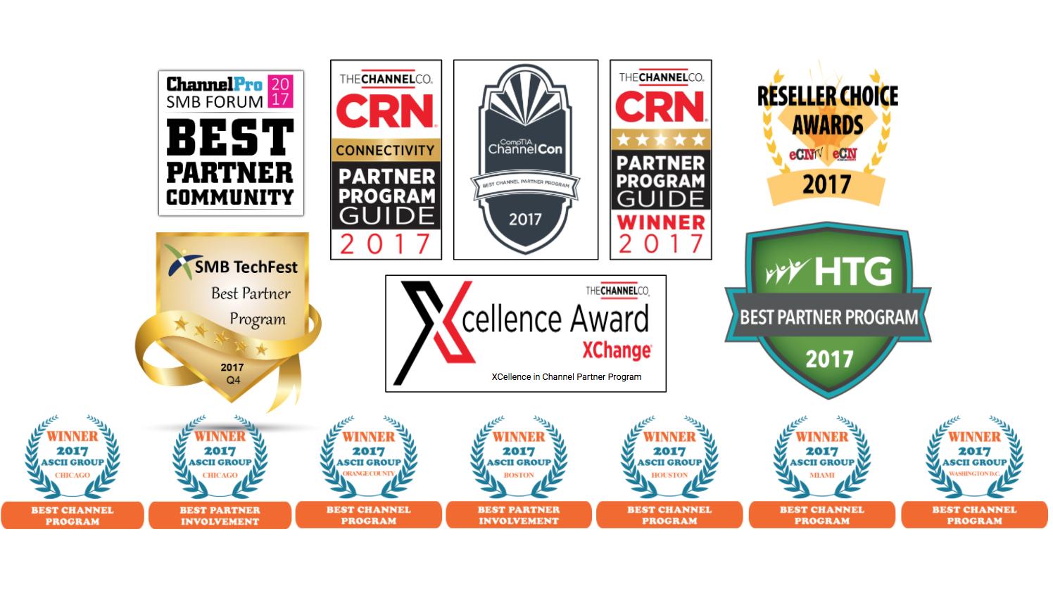 2017 Partner Program Awards