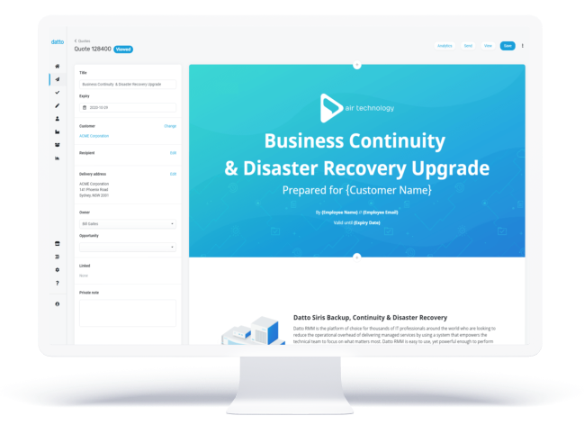 Datto Commerce