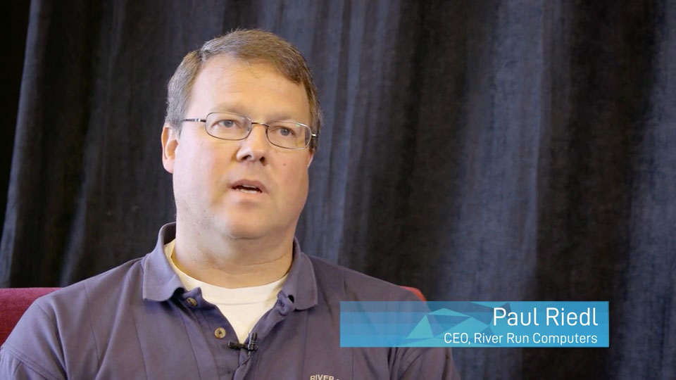Paul Riedl, River Run Computers - Datto Partner